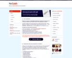 NuCash sparen website