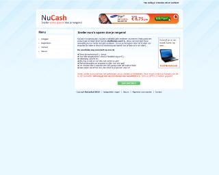 Nucash website
