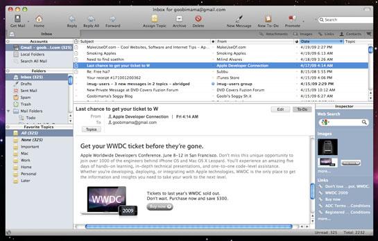 Korting op Postbox voor de Mac