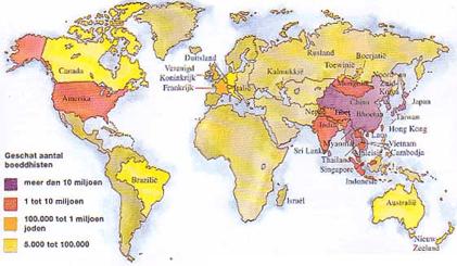 Boeddhisten bevolking