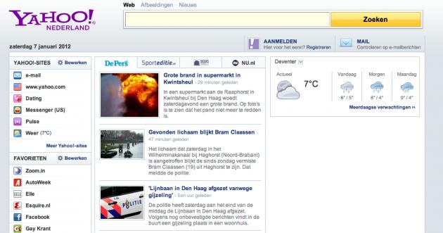 Yahoo Nederland geld verdienen