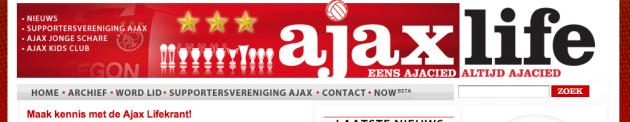 Gratis AJAX proefnummer