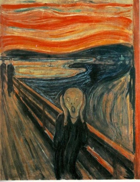 Edvard Munch De Schreeuw