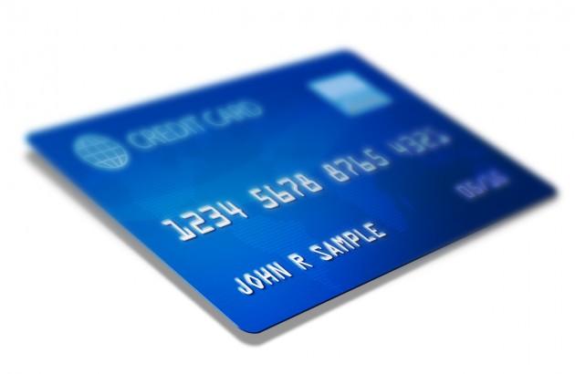 In de schulden door creditcard
