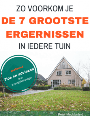 ergernissen in de tuin