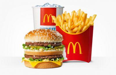 Mcdonalds menu ongezond