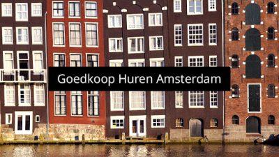 Goedkope huurwoningen Amsterdam